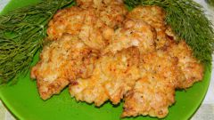 Как приготовить оладьи из куриного филе