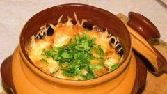Как приготовить креветки в горшочках по-турецки