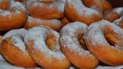 Как приготовить домашние пончики