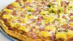 Как приготовить гавайскую пиццу