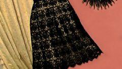 Как сшить кружевную юбку
