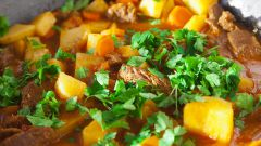 Как просто приготовить рагу из баранины