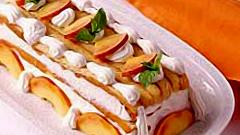 Как приготовить семифредо с персиками