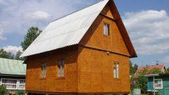 Как построить простой дачный домик своими руками