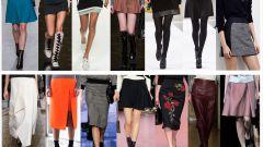 Как и с чем носить разные модели юбок