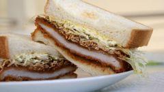 Как приготовить танкацу сандвич