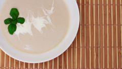 Как приготовить куриный крем-суп с шампиньонами