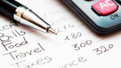 Как организовать свой бюджет