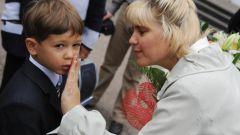 О чем следует беспокоиться родителям первоклассника