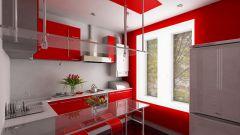 Как оформить маленькую кухню в стиле хай-тек