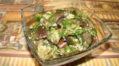 Как приготовить пикантную закуску из баклажанов