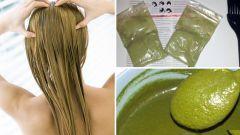 Как сделать маску для волос из бесцветной хны