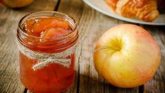 Как приготовить яблочное варенье с лимоном