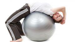 Как похудеть с фитболом