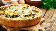 Как приготовить овощной пирог с грибами