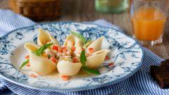 Как приготовить ракушки с морепродуктами