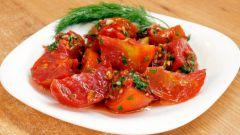 Как приготовить быстрые помидоры по-корейски