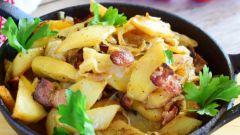 Как приготовить жареную картошку с беконом