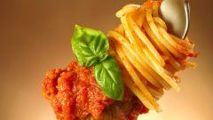 Как приготовить спагетти с соусом болоньезе