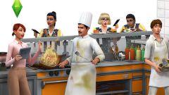 """Как играть в игру Sims 4 """"В ресторане"""""""