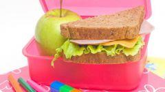 Что из еды дать ребенку в школу