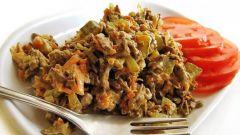 Как сделать печеночный салат