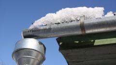 Как сделать водостоки для крыши металлические своими руками
