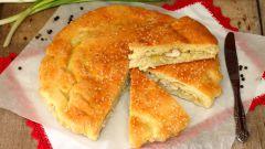 Как приготовить заливной пирог с курицей и сыром