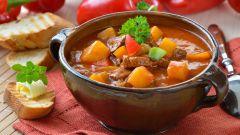 Как приготовить картофель с мясом по-деревенски