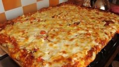 Как приготовить быструю пиццу в духовке