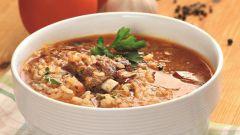 Как приготовить суп харчо с рисом: простой рецепт