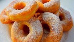 Как приготовить вкусные воздушные пончики