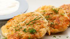 Как приготовить вкусные картофельные оладьи