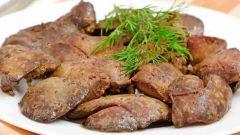 Как приготовить мягкую говяжью печень
