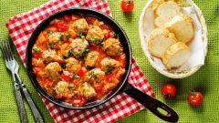 Как приготовить овощное рагу с фрикадельками