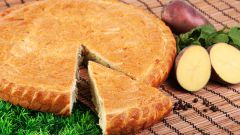 Как приготовить пирог с мясом и картошкой в духовке