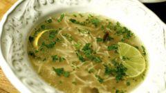 Как сварить куриный суп с картошкой и вермишелью