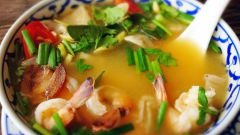 Как самостоятельно приготовить тайский суп том-ям