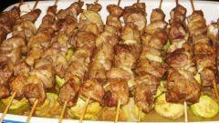 Как приготовить куриный шашлык с картошкой в духовке