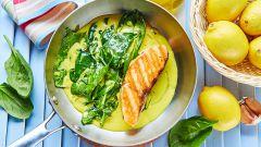 Как приготовить диетический стейк из лосося