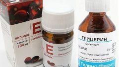 Как сделать маску из глицерина и витамина Е для кожи  лица