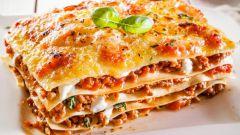Как приготовить вкусную лазанью из лаваша
