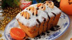 Как испечь вкусный кекс с мандаринами