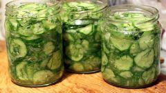 Салат из перезрелых огурцов на зиму без стерилизации
