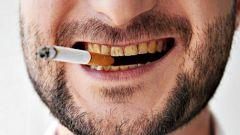 Как курильщику очистить зубы от никотина