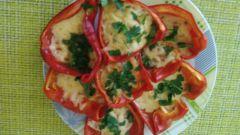 Как приготовить перец, запеченный с сыром