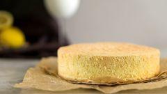 Бисквит на кипятке: рецепт приготовления