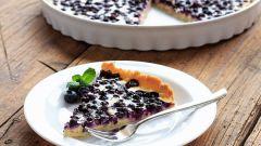 Черничный пирог: рецепты с фото для легкого приготовления