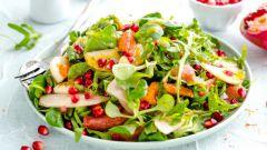 Салат с гранатом: рецепты с фото для легкого приготовления