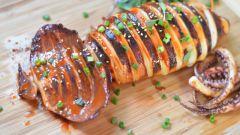 Кальмары в духовке: рецепты с фото для легкого приготовления